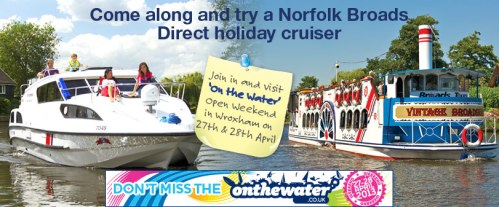 Norfolk bRoads Direct on The Water Open Weekend