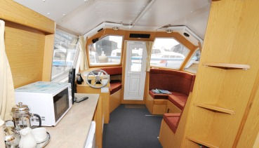 Norfolk Broads family cruiser
