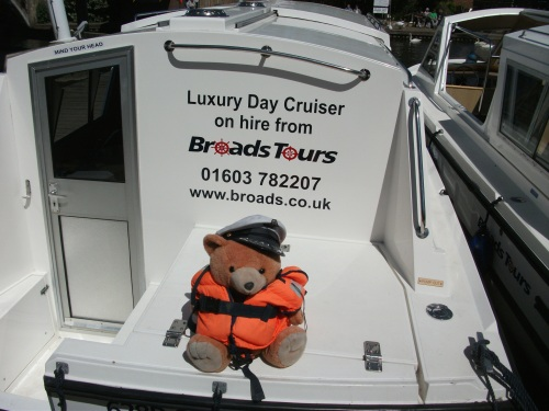Norfolk Broads Bear